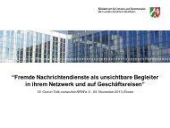 Vortrag von Reinhard Vesper - ComIn Talk