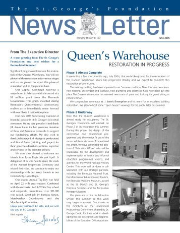 Newsletter Summer 2005 - The St. George's Foundation