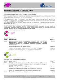 Die Preisliste als PDF-Download - MARKUS Software GmbH