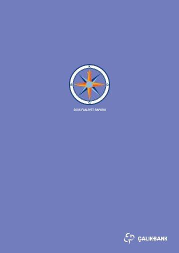2006 yılına ait faaliyet raporu - Aktif Bank