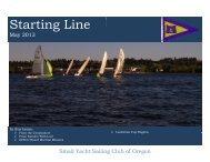 May - Small Yacht Sailing Club of Oregon