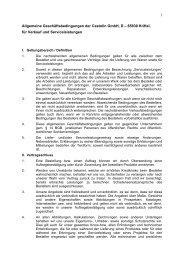AGB Castolin GmbH Deutsch