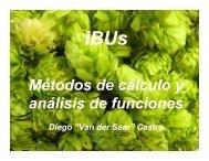 Cálculo de IBU - Somos Cerveceros