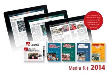 Media Kit 2014 - Allgemeine Fleischer Zeitung
