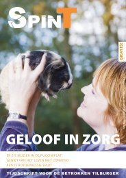 GELOOF IN ZORG - Spint Tilburg