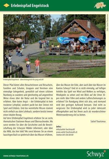 Erlebnispfad Engelstock - Schwyzer Wanderwege