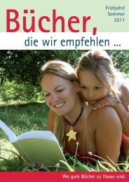 die wir empfehlen ... - Scherer-Bücher Medienhandlung