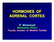 HORMONES OF ADRENAL CORTEX