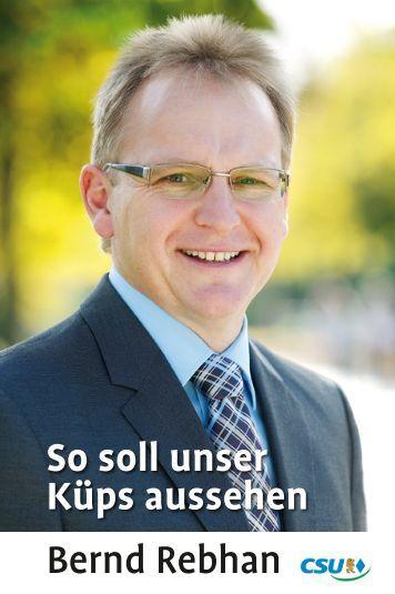 So soll unser Küps aussehen Bernd Rebhan - Herzlich Willkommen ...