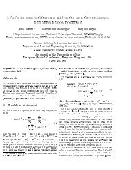 A GLOBAL BMI ALGORITHM BASED ON THE GENERALIZED ...