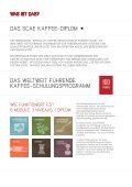 Coffee Diploma System - Bonner Kaffeeschule - Seite 3