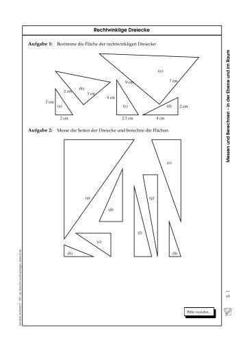 Tolle Rechtwinkliger Dreiecke Arbeitsblatt Fotos - Arbeitsblätter ...