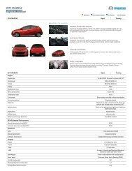 Features & Specs - Mazda