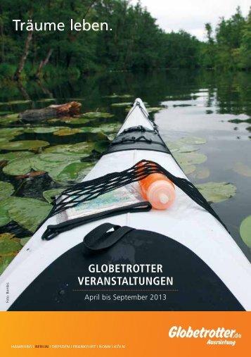 GLOBETROTTER VERANSTALTUNGEN - Globetrotter Ausrüstung