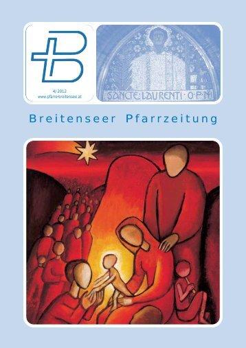 Breitenseer Pfarrzeitung - Pfarre Breitensee