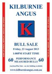 Annual Bull Sale August 2013 - Kilburnie Angus