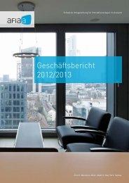 GB 2012/2013 - AFIAA