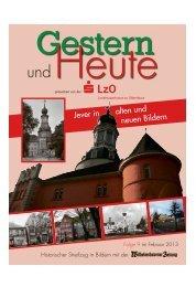 Jever in alten und neuen Bildern - Wilhelmshavener Zeitung