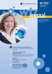Kennen Sie das WTZ-Journal? - Westdeutsches Tumorzentrum Essen
