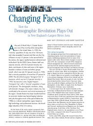Changing Faces: How the Demographic Revolution Plays Out