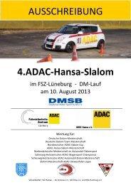 DMSB - Ausschreibung Automobil-Slalom 2013 - ADAC-Hansa ...