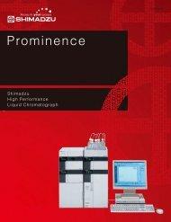 Prominence - Shimadzu Scientific Instruments