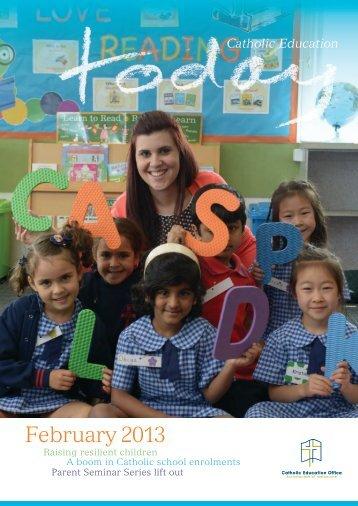 Catholic Education Today February 2013 - CEVN