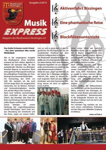 Magazin MVH (PDF / 5.2 MB) - Musikverein Herdringen eV