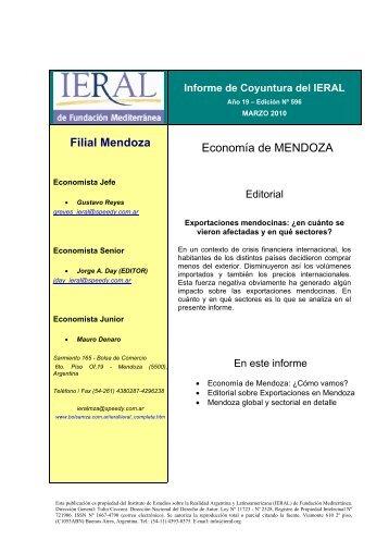 Marzo - Bolsa de Comercio de Mendoza