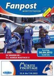 Sonntag - SV Waren 09