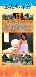 Einmaliges Aufgussprogramm, Massage & Kosmetik, bargeldloses ...