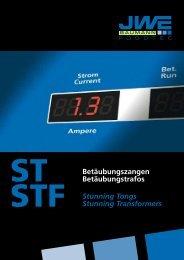 Gesamtprospekt ST-STF - JWE-Baumann GmbH