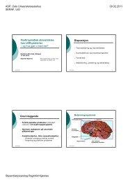 Posttraumatisk stresslidelse hos LAR-pasienter - Helse Bergen