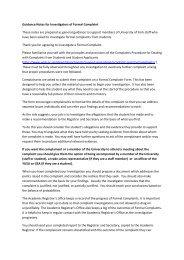 Guidance notes for complaint investigators (PDF ... - University of York