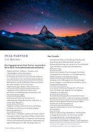 Parnter-Dokumentation - Hörnlihütte 2015