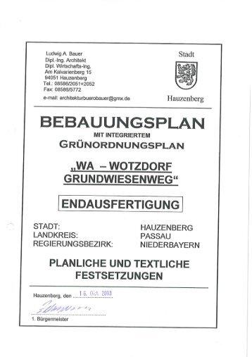 lng. Architekt Dipl. Wirtschafts-Ing. Am Kai ... - Landkreis Passau