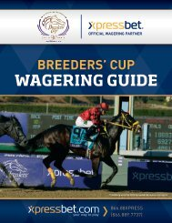 2013 Breeders' Cup Wagering Guide - Xpressbet