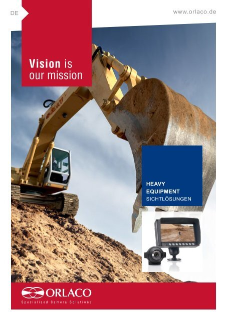 Vision is our mission - Orlaco