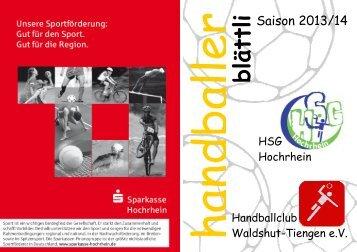 blättli - HC-Waldshut-Tiengen