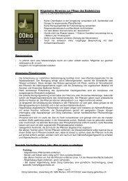 Allgemeine Hinweise zur Reinigung von Biotopen und ...