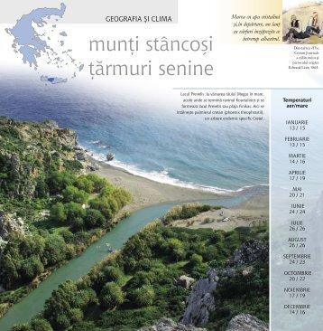 munţi stâncoşi ţărmuri senine - Rethymno