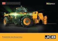 Produktivität ohne Kompromisse - DEMCO JCB