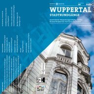 Stadtrundgänge (Pdf) - Wuppertal Marketing GmbH