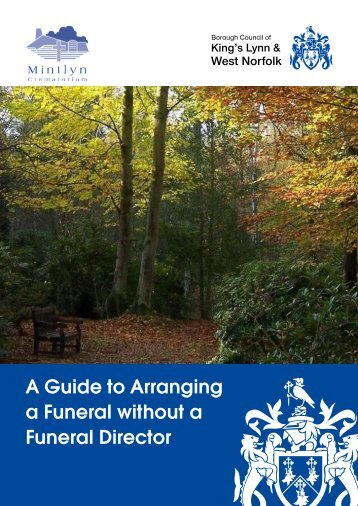 Arranging a funeral guide - Borough Council of King's Lynn & West ...