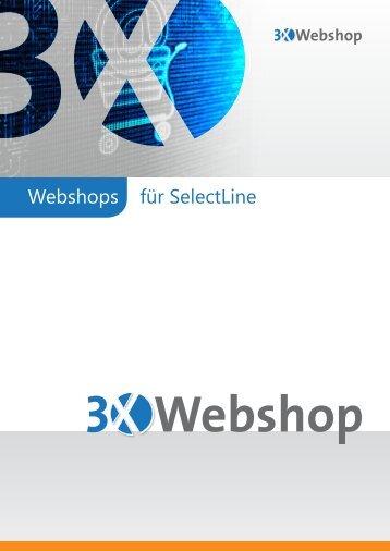 Webshops für SelectLine - 3X Software