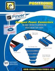 The power interface for platforms that utilize Eurocard Form Factors ...