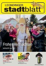 Leondinger Stadtblatt - ÖVP Leonding