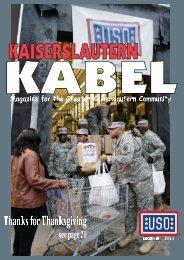 Kabel Magazine - (USO) - Europe