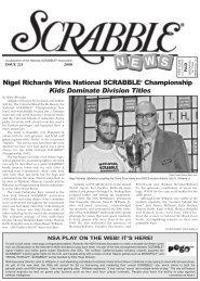 Nigel Richards Wins National SCRABBLE® Championship Kids ...