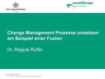 Change Management Prozesse umsetzen - socialdesign.ch